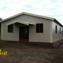 Complete Snap Church for Pastor Innocnece of Hope Bible Church in Esikhaleni, Richards Bay, Kwazulu-Natal
